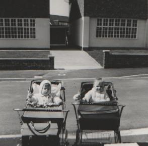 Toni and Ian at Langport Drive.